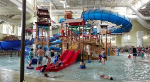 No Winter Is Complete Without A Trip To One Of Minnesota's Biggest Indoor Water Parks, Great Wolf Lodge