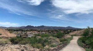 Whitney Mesa Nature Preserve Is A Lucky Find For Nature Lovers In Henderson, Nevada