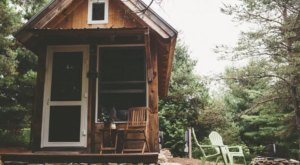 Rent This Tiny House In The Woods For An Unforgettable Northern Michigan Getaway