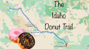 Take The Idaho Donut Trail For A Delightfully Delicious Day Trip
