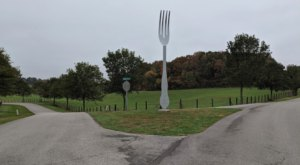Visit The Fork In The Road, A Quirky Roadside Attraction In Kentucky