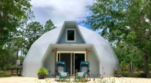 You Can Rent This Dome-House In Lake Wales, Florida For A Unique Getaway