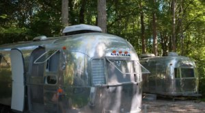 Go Glamping In A Retro Airstream Right Here In Rhode Island