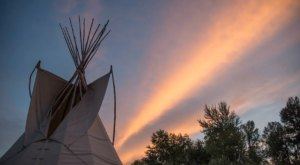 Spend The Night In A Tipi By The River At This Montana Abode