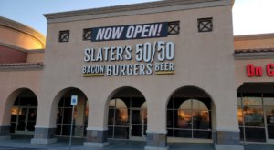 With Burger Patties Made From Bacon, Slater's 50/50 In Nevada Is A Meat Lover's Dream Come True