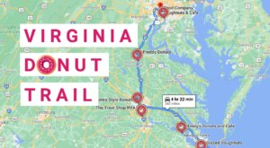 Take The Virginia Donut Trail For A Delightfully Delicious Day Trip