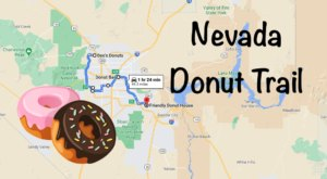 Take The Nevada Donut Trail For A Delightfully Delicious Day Trip