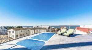 Relax By Your Very Own Rooftop Pool At This Beachfront New Jersey Airbnb