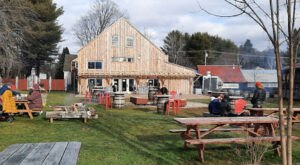 Enjoy Trails And Pizza At This Super Fun Maine Beer Garden In Oxford County