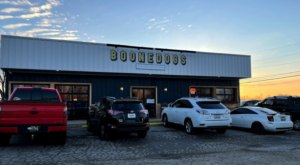 Indulge In Dressed Up Hot Dogs At Boonedogs In Kentucky