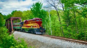 The Bartlett Excursion Train Ride Offers Some Of The Most Breathtaking Views In New Hampshire