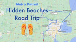 The Hidden Beaches Road Trip That Will Show You Metro Detroit Like Never Before