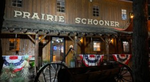 You'll Be Transported To the American Pioneer West Dining At the Prairie Schooner Steakhouse in Utah