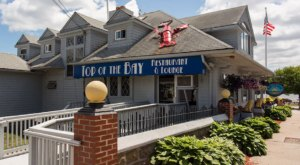Feast On Stuffed Quahogs And Classic New England Seafood At Top Of The Bay In Rhode Island