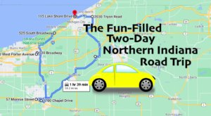 Enjoy The Best Northern Indiana Has To Offer On This 2-Day Road Trip
