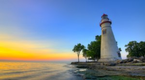 The Most-Photographed Lighthouse In The State Is Just A Roadtrip Away From Cleveland