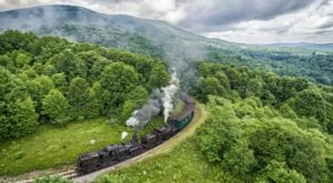 The Cass Scenic Bald Knob Rail Trip Offers Some Of The Most Breathtaking Views In West Virginia