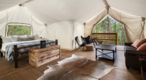 Maine's New Glampground Getaway, Under Canvas Acadia, Is Truly One-Of-A-Kind