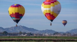 Hot Air Balloons Will Be Soaring At The 10th Annual Arizona Balloon Classic