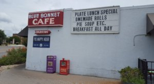 Blue Bonnet Cafe Has Been Named The Best Hole-In-The-Wall Diner In Texas