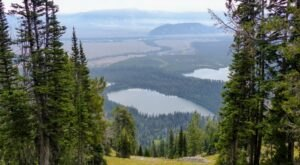Amphitheater Lake Trail Is A Challenging Hike In Wyoming That Will Make Your Stomach Drop