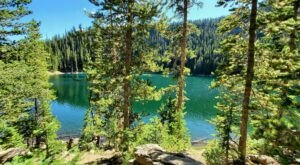 Hike To An Emerald Lagoon On The Easy Crater Lake Trail In Wyoming