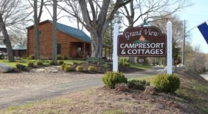 Connecticut's New Glampground Getaway, GrandView Camp Resort & Cottages Is Truly One-Of-A-Kind