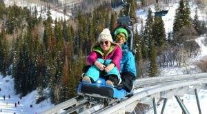 Ride Through Colorado On The Epic Outlaw Mountain Coaster