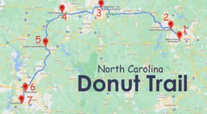 Take The North Carolina Donut Trail For A Delightfully Delicious Day Trip