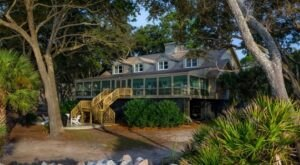 The Turner House On St. Phillips Island In South Carolina Is Now The Most Exclusive Vacation Rental In The State