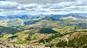 You Will Never Forget The Incredible Bird's Eye View From Colorado's Mountaintop Hahn's Peak Lookout Tower