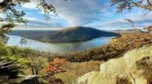 The Weverton Cliffs Trail In Maryland Is A 1.9-Mile Out-And-Back Hike With An Overlook Finish