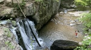 Hike To A Waterfall Lagoon On The Easy Falling Branch Trail In Maryland