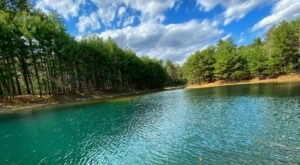 Hike To An Emerald Lagoon On The Easy Raven Rookery Trail In Massachusetts