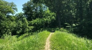 Take An Easy Loop Trail Past Some Of The Prettiest Scenery In Nebraska On the Hackberry, Hawthorn, Chickadee, Hickory and Ridge Trail