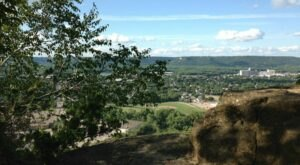 You'll Find Beautiful Wildflowers And Amazing Views From Above Along Minnesota's Holzinger Lodge Trail