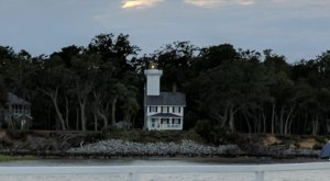 Built In 1873, This Historic Lighthouse Is The Only One In South Carolina You Can Rent For The Night