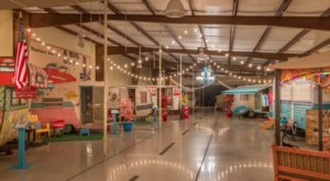 The First Indoor Campground In Texas, Lone Star Glamp Inn Is Such A Fun Place To Sleep