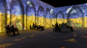 Step Into A Van Gogh Painting At This Immersive Art Exhibit Coming To Texas This Year