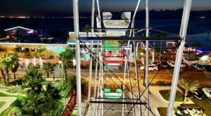 Bring The Whole Family To Gravity Park, A Little-Known Texas Amusement Park Right On The Beach