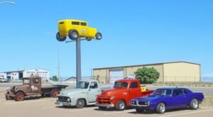 For A Trip Back In Time, Plan A Visit to Route 66 Auto Museum In New Mexico