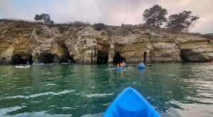 Take A Unique 1.5-Hour Kayak Tour Through The Sea Caves Of Southern California