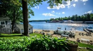 Stay In A Charming New Hampshire Cottage With Its Own Private Lakefront Views