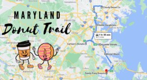 Take The Maryland Donut Trail For A Delightfully Delicious Day Trip