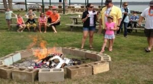 Celebrate The Arrival At Spring At Burning Of The Socks Festival In Oklahoma