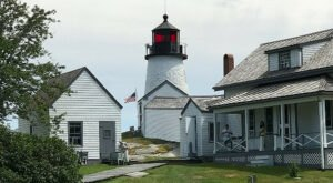 Standing For 200 Years On The Coast Of Maine, Burnt Island Lighthouse Is Quaint And Historic