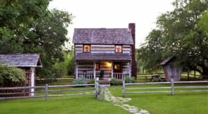 Step Back In Time To Pioneer Days At Settlers Crossing, A Rustic Getaway In The Texas Hill Country