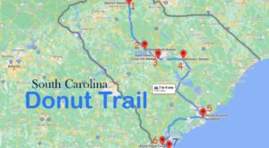 Take The South Carolina Donut Trail For A Delightfully Delicious Day Trip