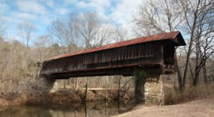 Few People Know The History Behind Waldo Covered Bridge, The Second Oldest In Alabama