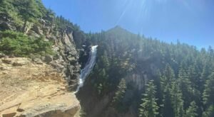 See The Tallest Waterfall In Montana At Woodbine Falls